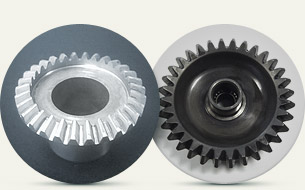 Manufacturing of highly loaded gear wheels (including with nonsymmetrical cogs, herringbone, hypocycloid) from high-strength steels and alloys