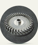 Turbine blisk (d=30mm)